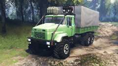 KrAZ-63221 v3.0 for Spin Tires