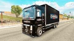 Skin Chereau for tractor Renault Magnum tandem