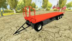 Self-supporting trailer