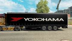 Skin Yokohama for semi-trailer