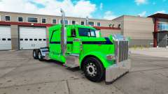 Emerald Dream skin for the truck Peterbilt 389 for American Truck Simulator