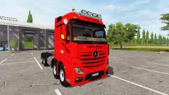 Mercedes-Benz Actros (MP4) 8x8 v1.2 for Farming Simulator 2017