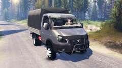GAZA-ГАЗель 33027-Business v2.0 for Spin Tires