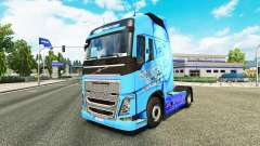 Skin Paul Walker R. I. P. to Volvo trucks for Euro Truck Simulator 2