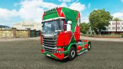 Skin the locomotive v2.0 truck Scania