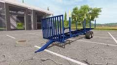 Timber trailer v1.3 for Farming Simulator 2017