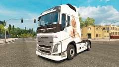 Skin I Love Pussy for Volvo truck for Euro Truck Simulator 2
