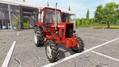 MTZ-82 Belarus v1.2 for Farming Simulator 2017