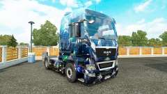Skin Deep Abyss on the truck MAN for Euro Truck Simulator 2