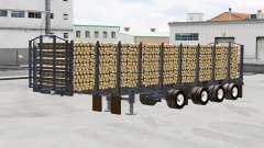 A semi-trailer truck Manac
