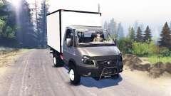 GAZA ГАЗель 33027 Business v3.0 for Spin Tires