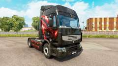Skin Republic of Gamers for tractor Renault for Euro Truck Simulator 2