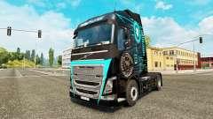 Skin Hi-Tech at Volvo trucks for Euro Truck Simulator 2