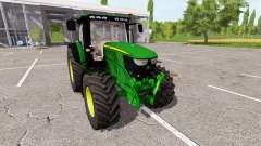 John Deere 6210R v0.9 for Farming Simulator 2017