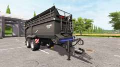 Krampe Bandit 750 black v2.0 for Farming Simulator 2017