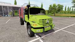 Mercedes-Benz Zetros timber for Farming Simulator 2017