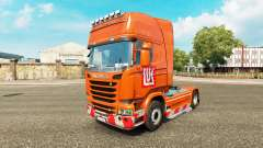 LUKOIL skin for Scania truck