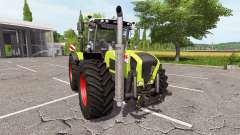 CLAAS Xerion 3800 v1.0.2.1 for Farming Simulator 2017