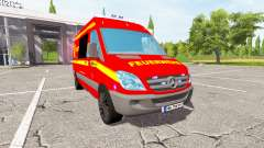 Mercedes-Benz Sprinter feuerwehr for Farming Simulator 2017