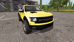 Ford F-150 SVT Raptor autoloader v1.1 for Farming Simulator 2017