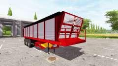 Forage semi-trailer for Farming Simulator 2017