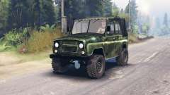 UAZ-469 HD for Spin Tires