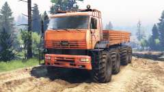 KamAZ-6560 8x8 North v2.0 for Spin Tires