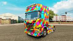 Arlequin skin for truck Scania