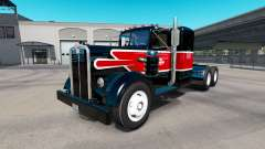 Skin Reynolds on tractor Kenworth 521