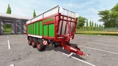 JOSKIN DRAKKAR 8600 red-green edition for Farming Simulator 2017
