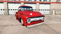 Ford F-100 1956 custom cab for American Truck Simulator