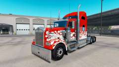 Inferno skin for the Kenworth W900 tractor for American Truck Simulator