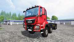 MAN TGS 41480 8x8 container