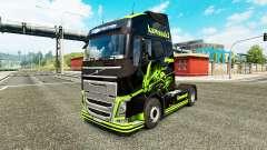 Skin Kawasaki Ninja for Volvo truck