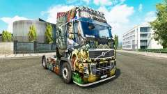 Skin Monsters Attack at Volvo trucks