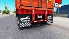 Updated mud flaps of semi-trailers for American Truck Simulator