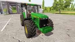 John Deere 8100 for Farming Simulator 2017