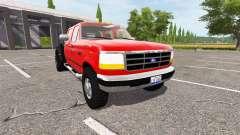 Ford F-350 1996 hauler for Farming Simulator 2017