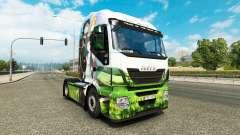 Skin Sword Art Online for truck Iveco for Euro Truck Simulator 2