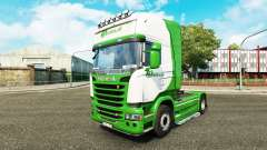 Skin Beelen.nl for tractor Scania for Euro Truck Simulator 2