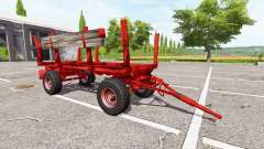 Timber trailer Krone for Farming Simulator 2017