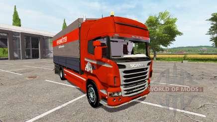 Scania R730 side tarpaulin for Farming Simulator 2017