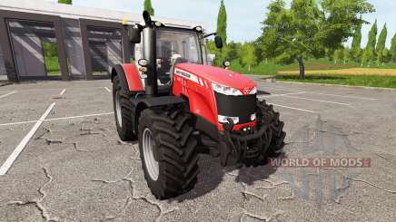 Massey Ferguson 8727 v2.0 for Farming Simulator 2017