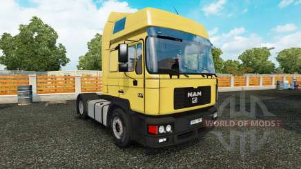 MAN F2000 v1.2 for Euro Truck Simulator 2
