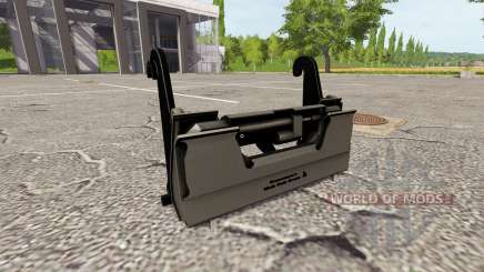 The adapter for front loader for Farming Simulator 2017