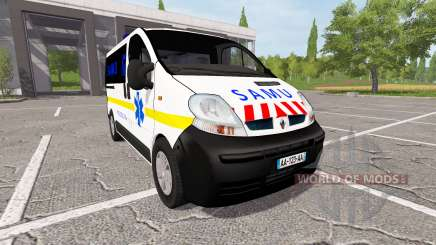 Renault Trafic SAMU for Farming Simulator 2017