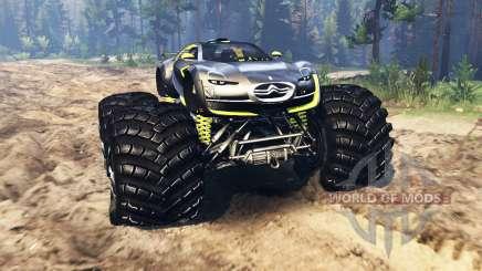 Citroen Survolt Concept 2010 for Spin Tires