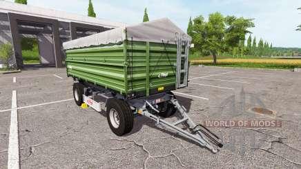 Fliegl DK 180-88 ciemna for Farming Simulator 2017