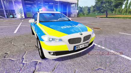 BMW 520d Touring (F11) Police for Farming Simulator 2017