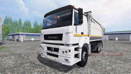 KamAZ-6580 v1.2 for Farming Simulator 2015